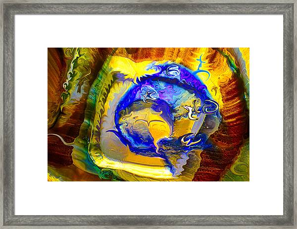 Sun Of A Moon Framed Print