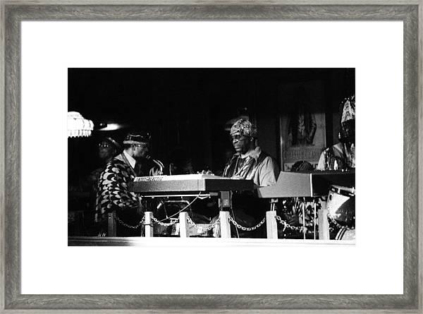Sun Ra Arkestra At The Red Garter 1970 Nyc 31 Framed Print