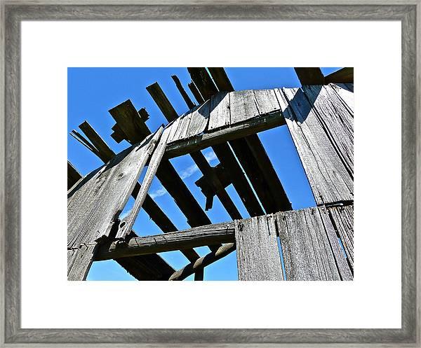 Sun Roof Framed Print