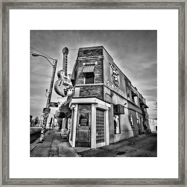 Sun Studio - Memphis #2 Framed Print