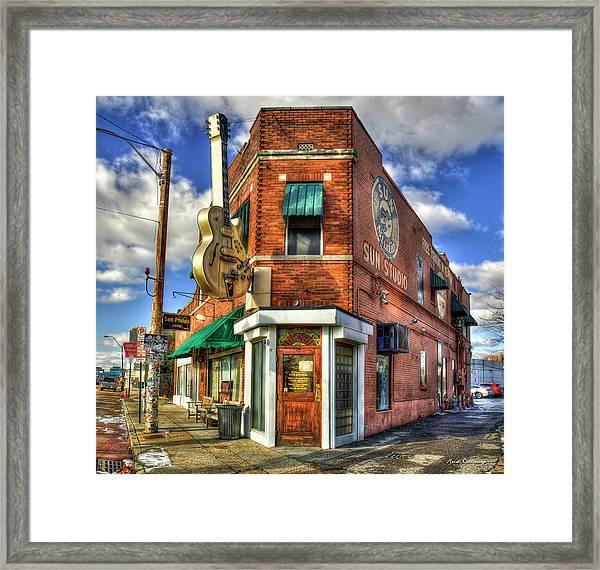 Sun Studio Rock N Roll Birthing Place Memphis Tennessee Art Framed Print