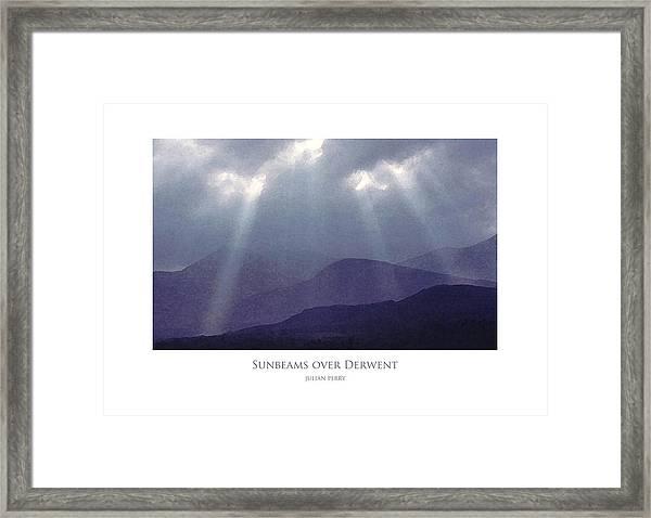 Sunbeams Over Derwent Framed Print