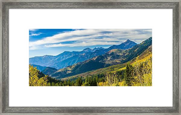 Sundance Autumn Framed Print