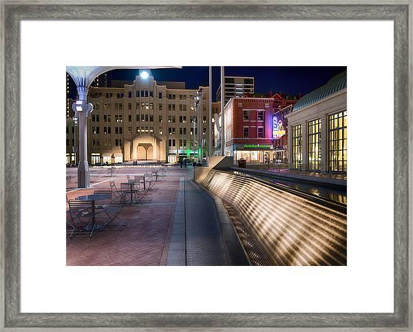 Sundance Square 01715 Framed Print