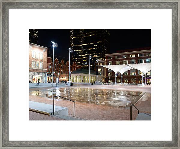 Sundance Square Fort Worth 3 Framed Print