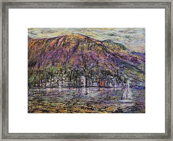 Sundays In Hobart Framed Print