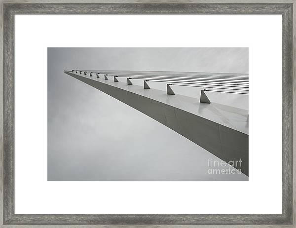 Sundial Perspective Framed Print