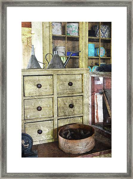 Sundries Framed Print
