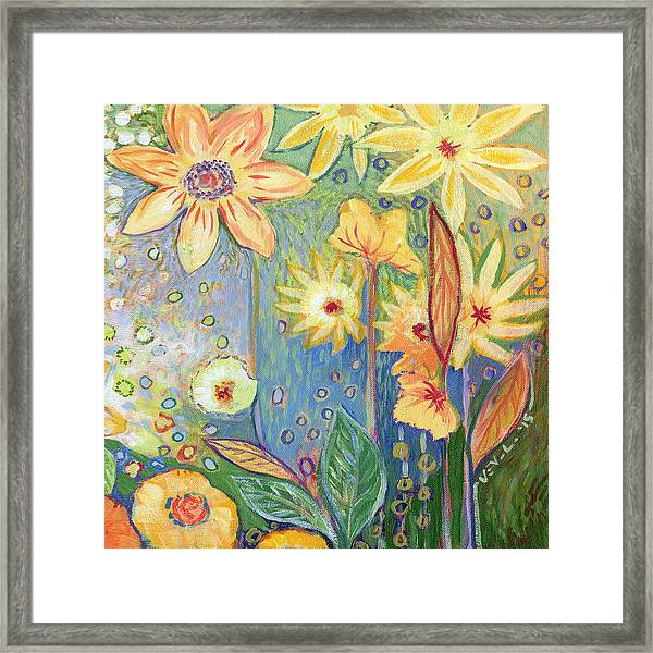 Sunflower Tropics Part 3 Framed Print