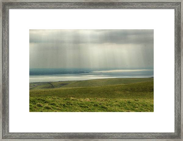 Sunlight On The Irish Coast Framed Print