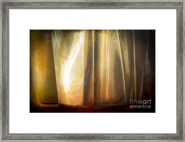 Sunny Abstract Framed Print