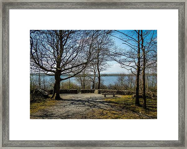 Sunny Afternoon At Lough Coole Framed Print