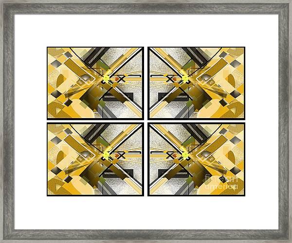 Sunny City X4 Framed Print by Jo Baby