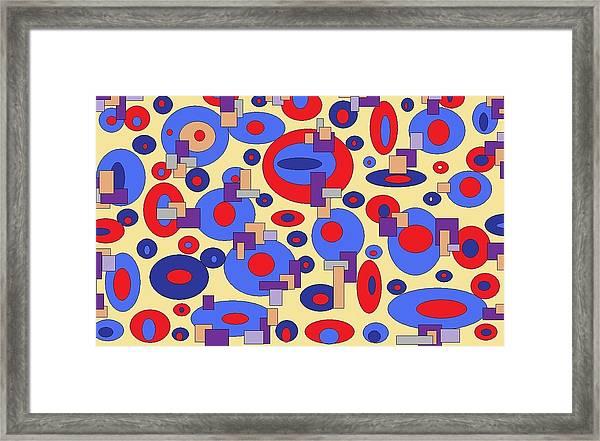 Sunny Sea Framed Print