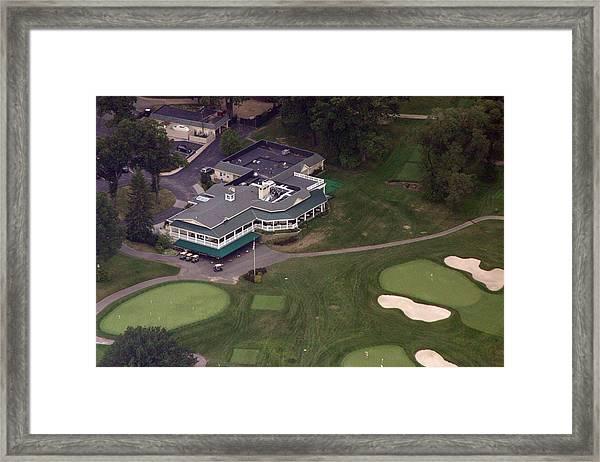 Sunnybrook Golf Club Clubhouse Framed Print by Duncan Pearson