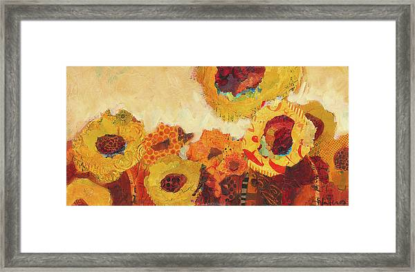 Framed Print featuring the painting Sunnyside Up by Shelli Walters