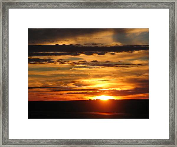 Sunrise 1 Framed Print