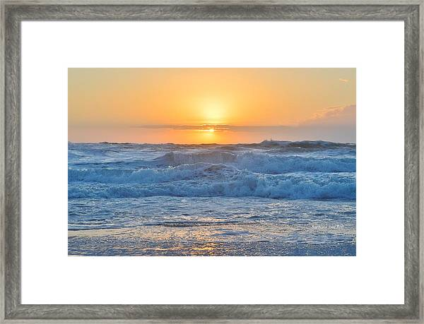 Sunrise 18th Of June Framed Print