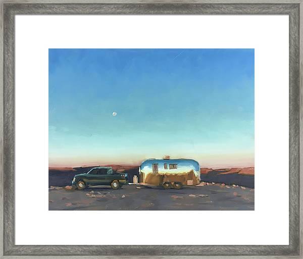 Sunrise At Gooseneck Canyon. Framed Print