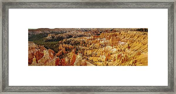 Sunrise Bryce Canyon Framed Print