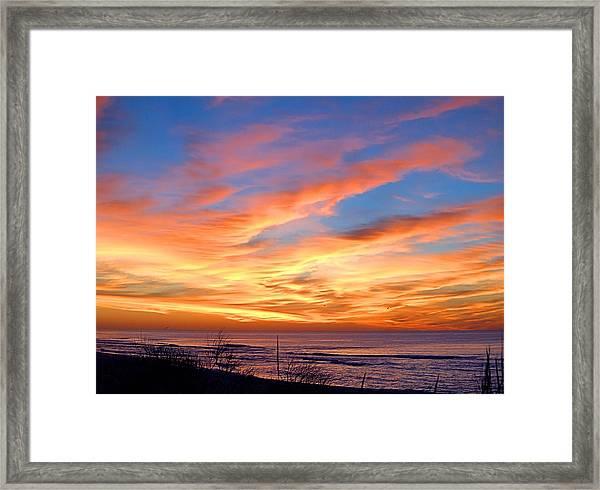 Sunrise Dune I I I Framed Print