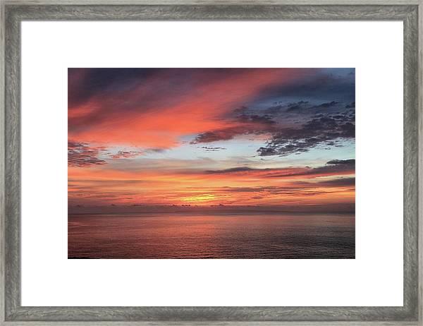 Sunrise From Koko Head Framed Print
