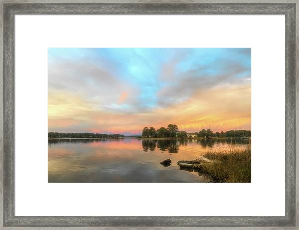 Sunrise, From The West Framed Print