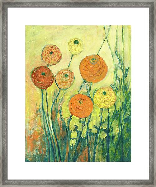 Sunrise In Bloom Framed Print