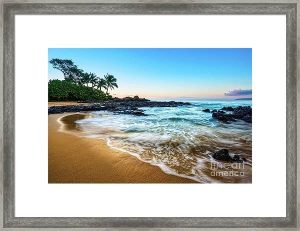 Sunrise In Paradise Framed Print