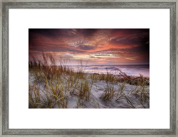 Sunrise In The Breeze Framed Print