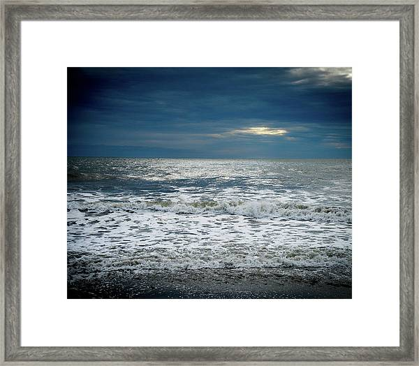 Sunrise-kennebunk Beach Framed Print
