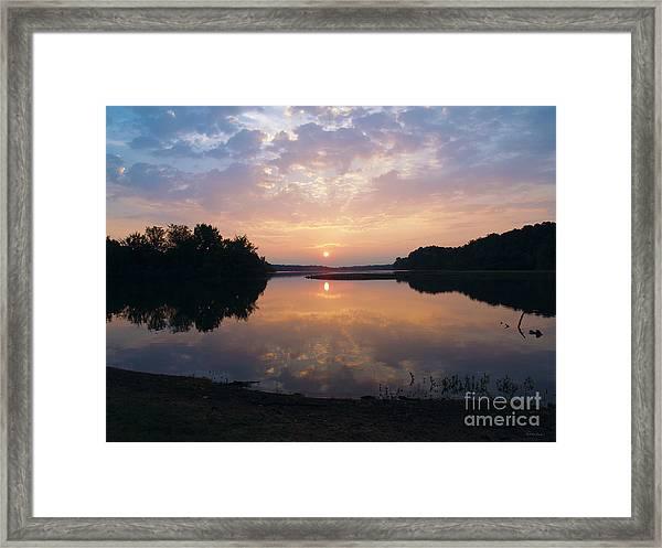 Sunrise Morning Bliss 152b Framed Print