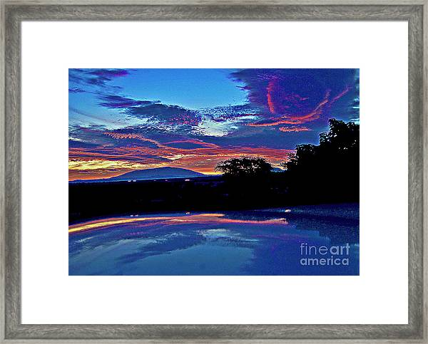 Sunrise Over Mauna Kea Framed Print