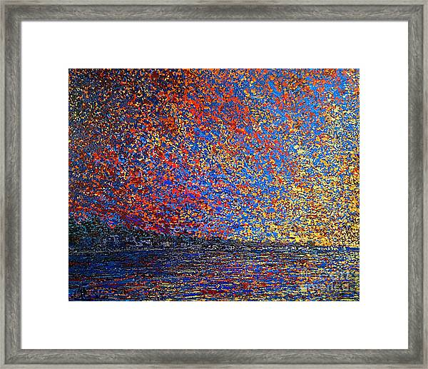 Sunrise Over St Andrews Nb Framed Print