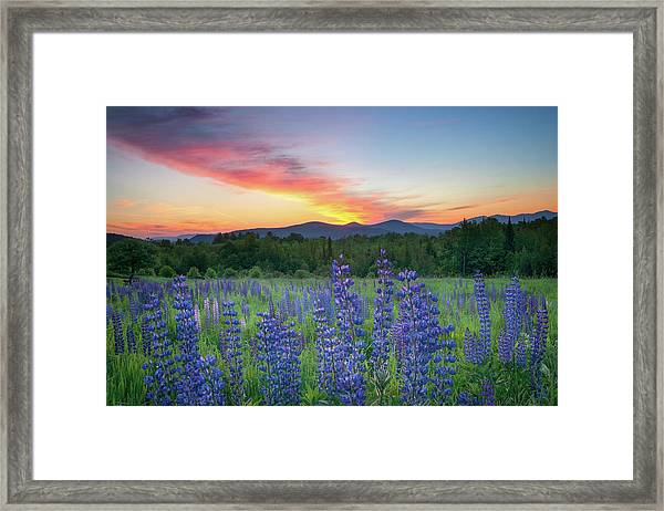 Sunrise Over The Ridge Framed Print