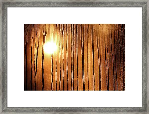 Sunrise Framed Print by Robin Street-Morris