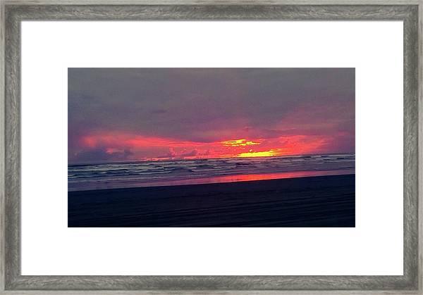 Sunset #1 Framed Print