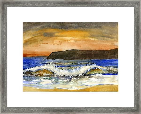 Sunset #20 Coronado Framed Print