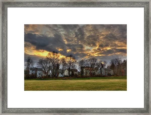 Sunset #9 Framed Print