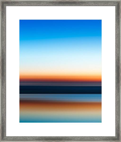Sunset At Ottawa Lake Framed Print