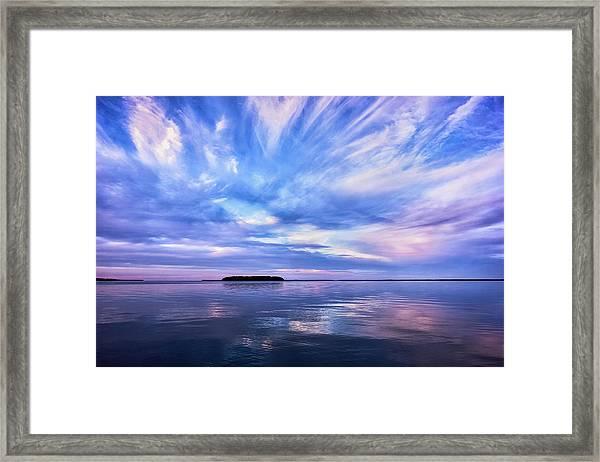 Sunset Awe Framed Print