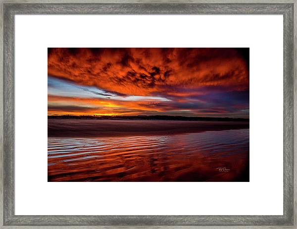 Sunset Beach 5 Framed Print