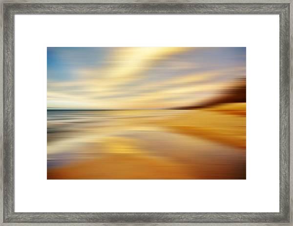 Sunset Breez'n Framed Print