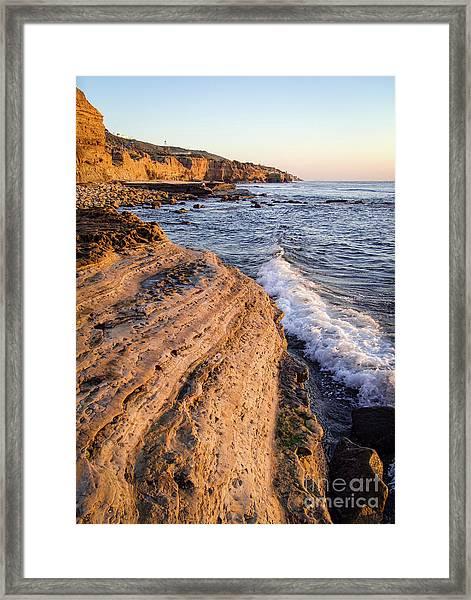 Sunset Cliffs, San Diego, California  -74706 Framed Print