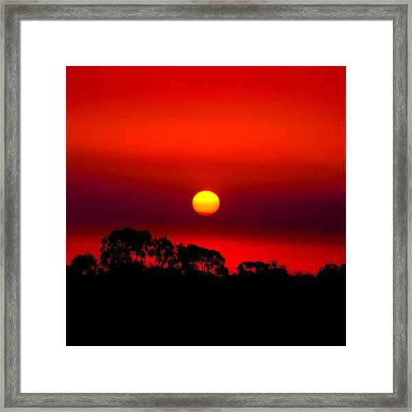 Sunset Dreaming Framed Print