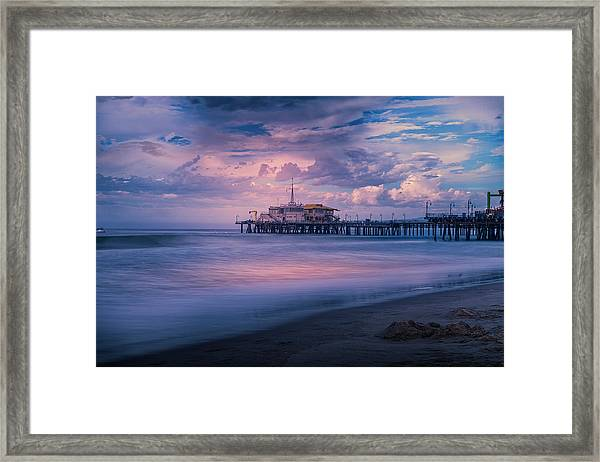 Sunset Glow Framed Print