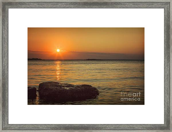 Sunset IIi Framed Print