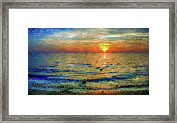 Sunset Impressions Framed Print