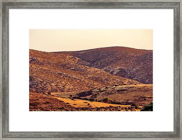 Framed Print featuring the photograph Sunset In Athens by Nikos Stavrakas