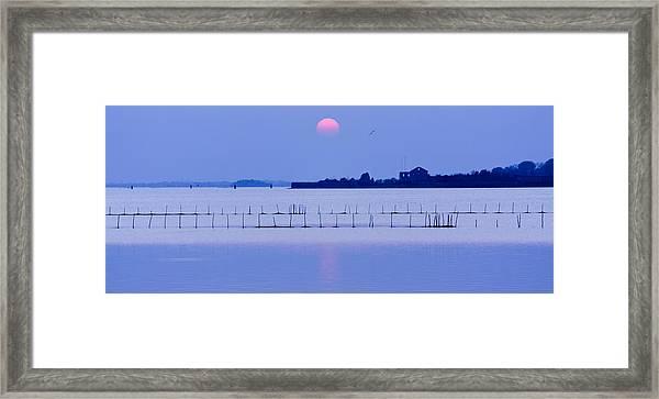 Sunset In Laguna Framed Print